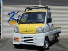 ミニキャブトラック5速4WD タイベル済 ルーフキャリア付