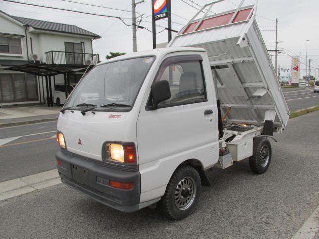 三菱 TDダンプ・改 エアコン パワステ 5MT 4WD