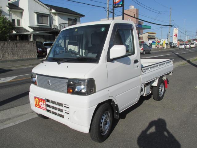 三菱 ミニキャブトラック VX-SE エアコン パワステ 4WD 5MT 工具箱ゲートチェーン付