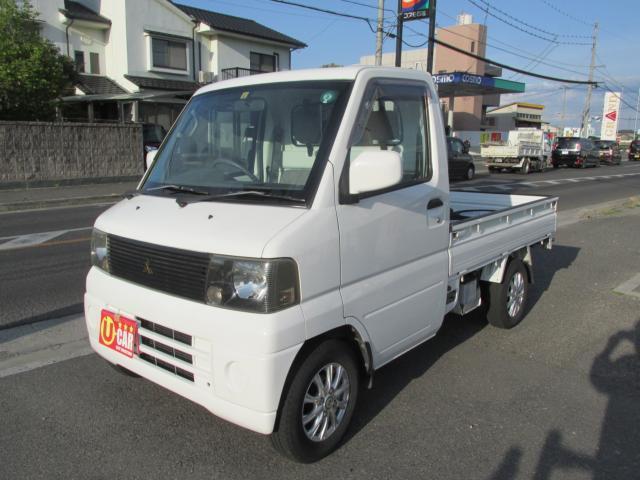 三菱 ミニキャブトラック VX-SE オートマ エアコン パワステ 社外アルミ CD LEDヘッドライト