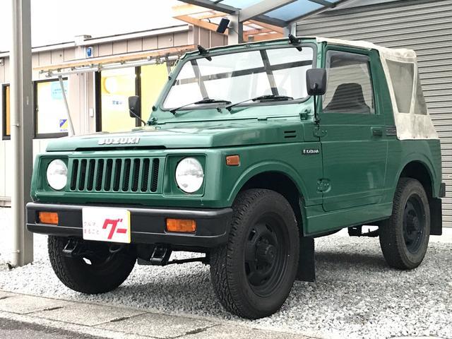 スズキ FM 4MT 4WD 幌 CD 色替グリーン SJ30