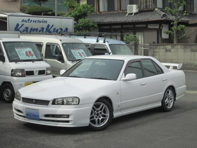 日産 GT 5速 車高調 マフラー プッシュST