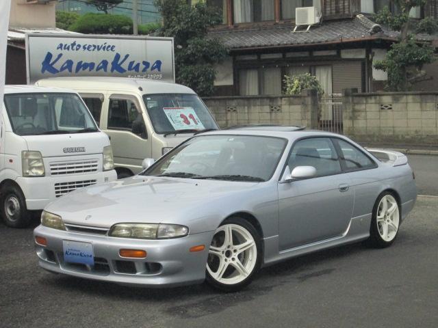 K's エアロ サンルーフ ターボ5速 車高調(1枚目)