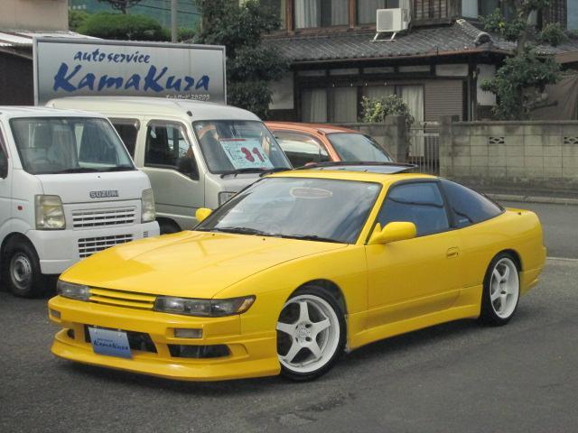 日産 タイプX ハイキャス サンルーフ ターボ5速 シルエイティ