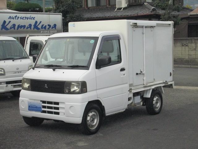 三菱 冷蔵冷凍ー5℃ 4WD 5速 AC PS