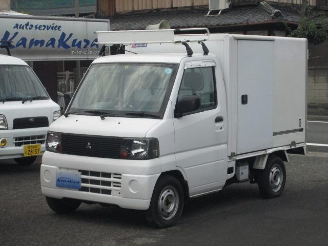 三菱 パネルバン 保冷車 4WD 5速 AC PS