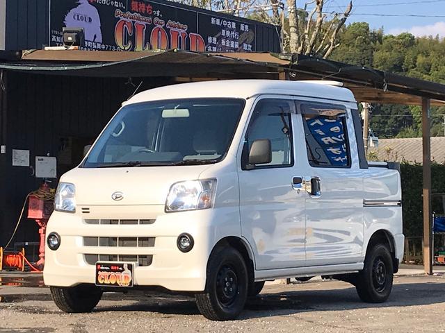 ダイハツ デッキバンG AT 4WD ワンオーナー 2年保証付き DVD再生 エアコン パワステ パワーウインドウ