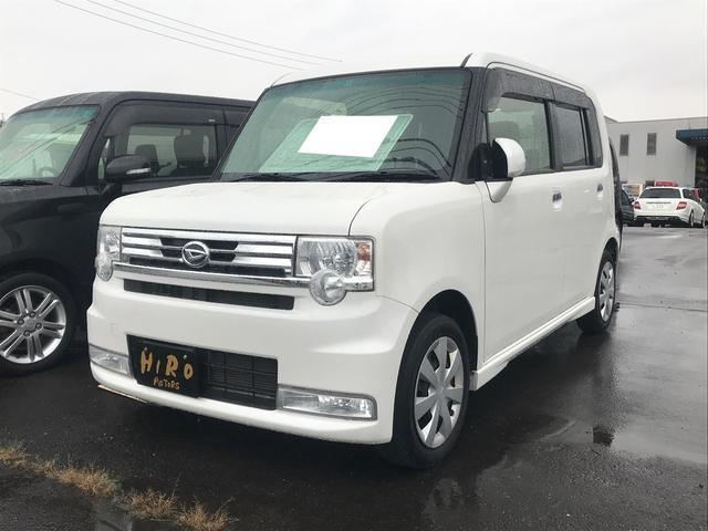 ダイハツ カスタム X TV ナビ 軽自動車 パールホワイトIII