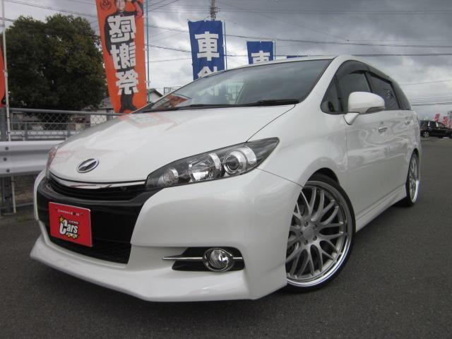 トヨタ ウィッシュ 1.8Sモノトーン WORK20インチアルミ RS-R車高調