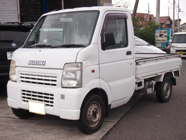 スズキ キャリイトラック KCパワステ MT エアコン ETC 軽自動車 660