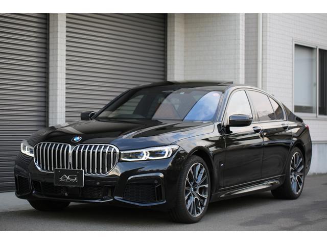 BMW 740d xDrive Mスポーツ BMW 740d xDrive Mスポーツ コニャックレザー内装 ブラックサファイアメタリック ベンチレーションシート ディスプレイキー ACC コンフォートアクセス ハーマンカードン