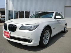 BMW740i サンルーフ 本革 純正ナビ