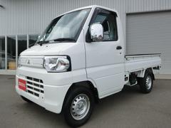 ミニキャブトラックVタイプ 4WD 5MT エアコン パワステ ワンオーナー