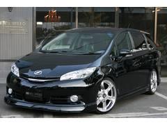 ウィッシュ1.8X ZEUSグレースライン 車高調Ver