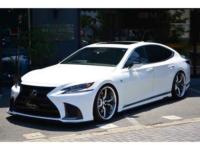 LS500 Fスポーツ ZEUS新車カスタムコンプリートカー(1枚目)