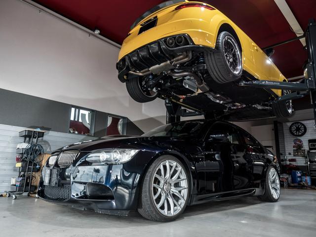 BMW M3 M3クーペ TK車高調/19インチアルミ/カーボンボンネット/カーボンウイング/6MT/左ハンドル/ABSユニット交換/IGコイル交換/DME新品交換