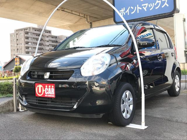 トヨタ パッソ 1.0 X クツロギ スマートキー ベンチシート CD