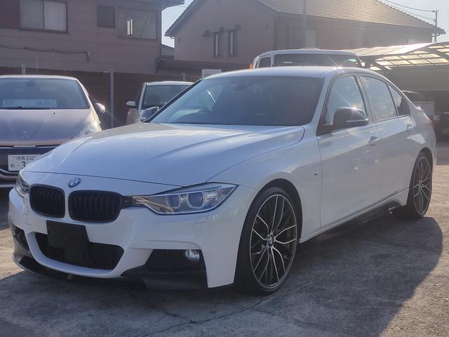 BMW 320i Mスポーツ ディーラー車 純正ナビ 純正20インチナビ 純正フロントリップ バックカメラ 社外マフラー レーダークルーズコントロール Mパワーパッケージ ドライブレコーダー