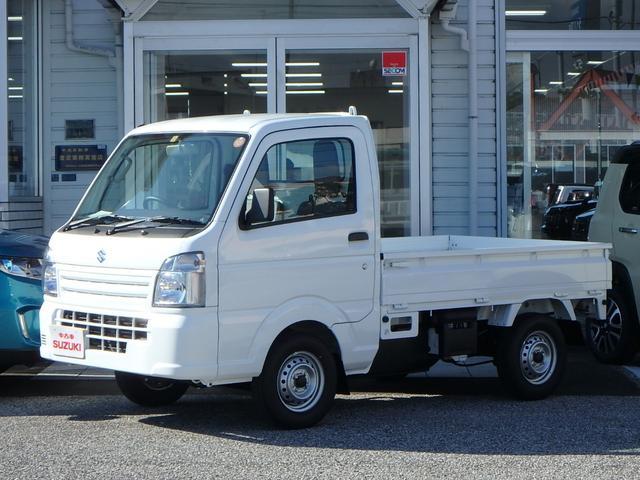 スズキ KCエアコン・パワステ 3方開 4WD 5MT