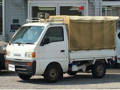 キャリイトラックKU 3方開 幌 エアコン 2WD 4MT