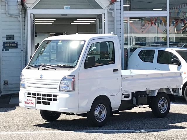 スズキ KCエアコン・パワステ4WD 5MT 三方開 届出済未使用車
