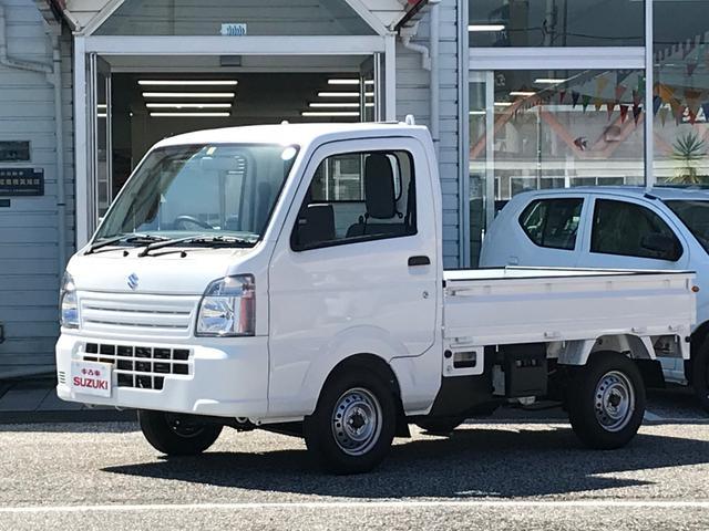 スズキ KCエアコン・パワステ農繁仕様4WD 5MT 届出済未使用車