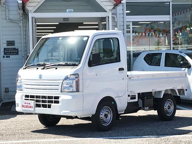 スズキ KCエアコン・パワステ 5MT 三方開 届出済未使用車