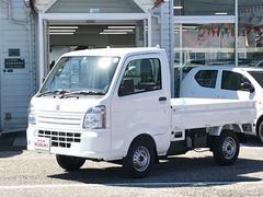 キャリイトラックKCエアコン・パワステ4WD 5MT 三方開 届出済未使用車