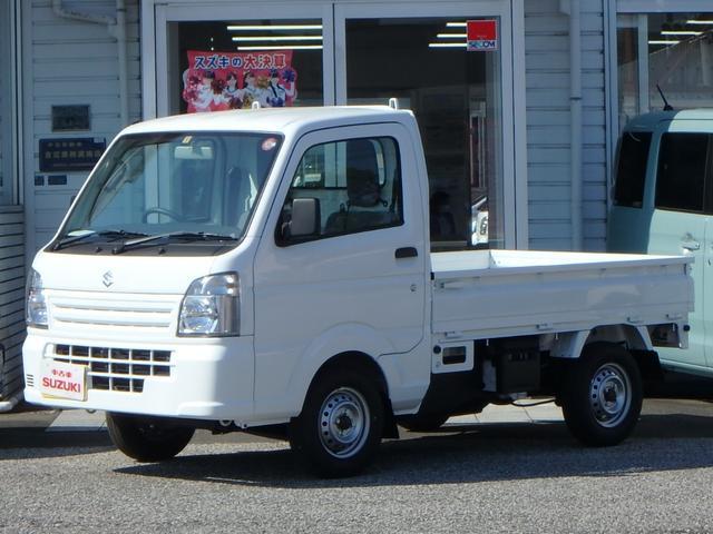 スズキ KCエアコン・パワステ 3方開 4WD 5MT ABS