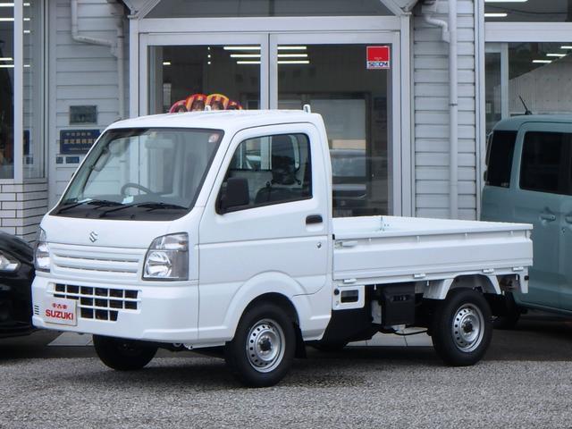 スズキ KCエアコン・パワステ 3方開 5MT 4WD エアバッグ