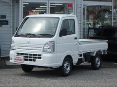 キャリイトラックKCエアコン・パワステ農繁仕様4WD 5MT 届出済未使用車