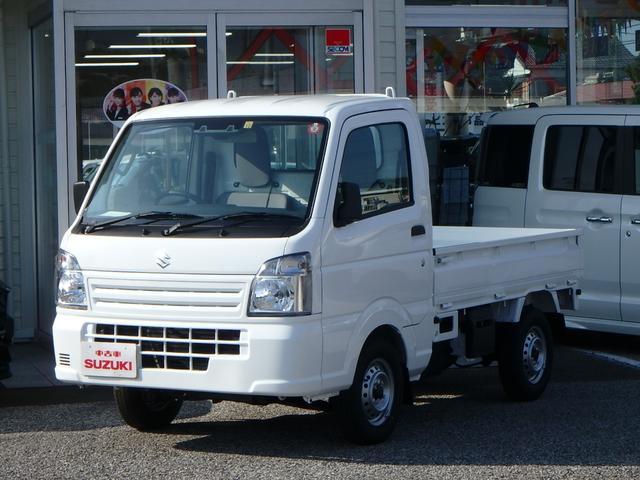スズキ KCエアコン・パワステ セーフティサポート装着車 4WD