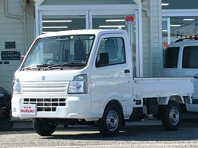 スズキ KCエアコン・パワステ農繁仕様スズキセーフティサポート装着車