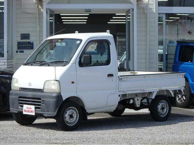 スズキ キャリイトラック KA 3方開 5MT パートタイム4WD 高低二段切替式