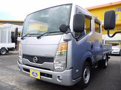 アトラストラックWキャブスーパーローDX ディーゼル 1.25t ETC
