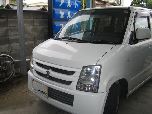 スズキ ワゴンR AC PS キーレス (車検整備付)