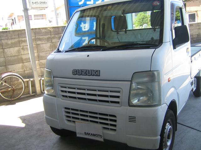 スズキ キャリイトラック KCエアコン・パワステ 4WD 5MT...