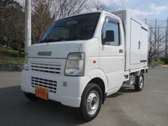 キャリイトラックKCエアコン・パワステ 冷蔵冷凍車