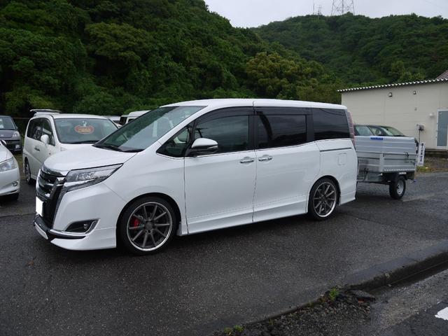 「トヨタ」「エスクァイア」「ミニバン・ワンボックス」「徳島県」の中古車