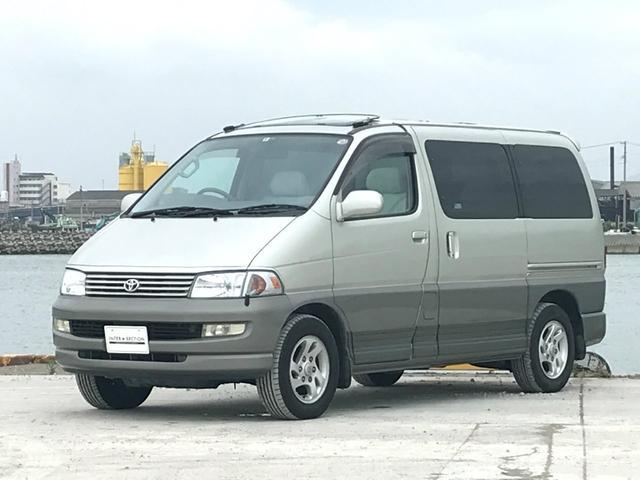 トヨタ Lパッケージ ツインムーンルーフ 8人 1KZ Dターボ