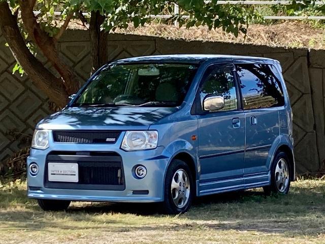 三菱 eKワゴン GS 左側パワースライドドア 4WD シートヒーター ROARエアロ フォグランプ アルミホイール CD リアスポイラー