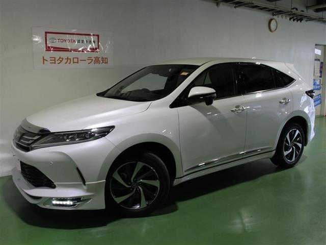 トヨタ ハリアー プレミアム ドライブレコーダー メモリーナビ バックモニター
