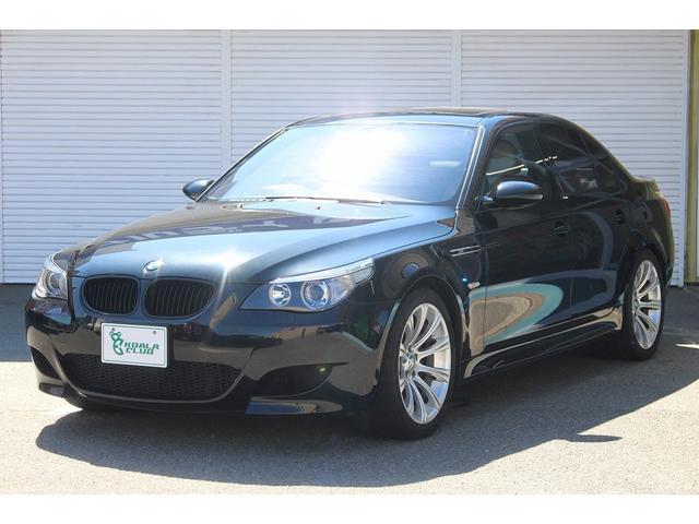 BMW M5 パワーシート サンルーフ ホワイトレザー 純正ナビ