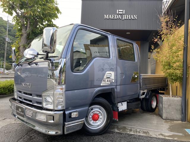 いすゞ エルフトラック Wキャブ NEW全塗装済・NEWメッキパーツ・NEWアルミパーツ