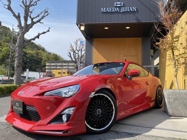トヨタ GTリミテッド 6MT・モデリスタ・社外AW・HKS車高調・柿本マフラー・前後スペーサー