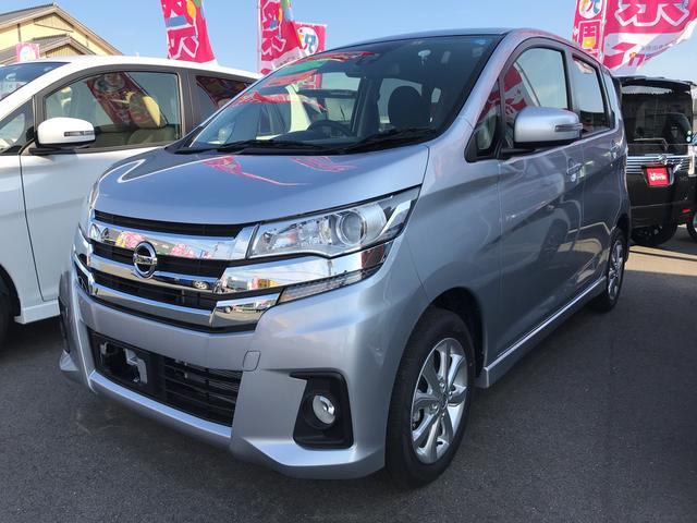 日産 ハイウェイスター X 軽自動車 自動ブレーキ インパネCVT