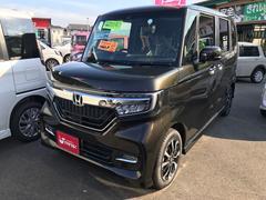 N BOXカスタムG・Lホンダセンシング 軽自動車 ETC LED