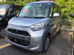 eKスペースM 軽自動車 インパネAT エアコン 届出済未使用車