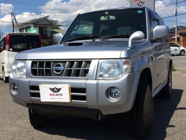 日産 RX ターボ 4WD ナビ ワンセグTV シートヒーター