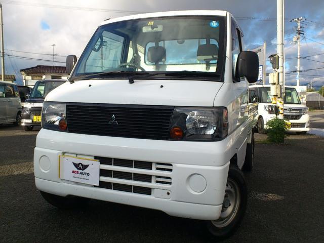 三菱 ミニキャブトラック VX−SE 4WD AC付 Tベル交換...
